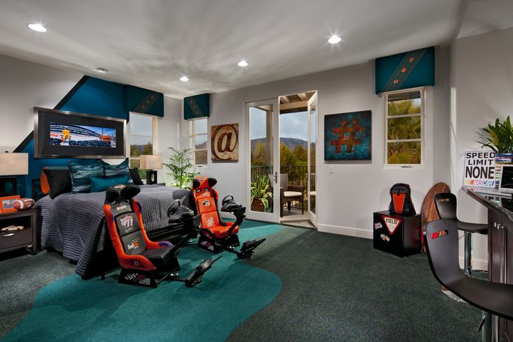 This Nascar Themed Room Would Get Any Kid S Heart Racing