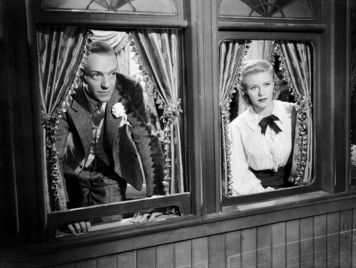 Fred Astaire and Ginger Rogers as Vernon Castle & Irene Foote