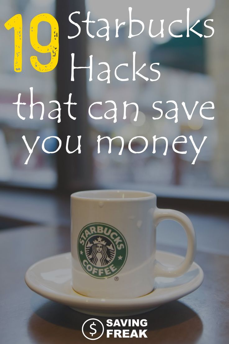 Saving money at Starbucks may seem like a lost cause, but you can use these Starbucks hacks to make your drink taste a little sweeter.