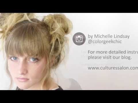 Messy Side Buns Tutorial — Simple Party Hairstyle