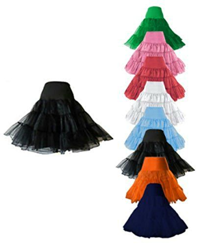 "That Special Day 50's 1950's 26"" Rockabilly Petticoat Underskirt Retro Vintage Swing Red, Black, White, Royal Blue, Pink, Sky blue (Large - X-Large, Baby Pink) tu es belle http://www.amazon.co.uk/dp/B00HQL01LY/ref=cm_sw_r_pi_dp_MIblvb16R7Q20"