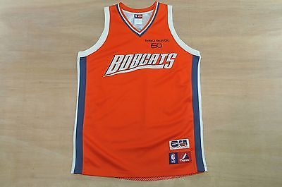 #Charlotte #bobcats - size l - #emeka okafor - majestic nba basketball jersey,  View more on the LINK: http://www.zeppy.io/product/gb/2/182053490425/