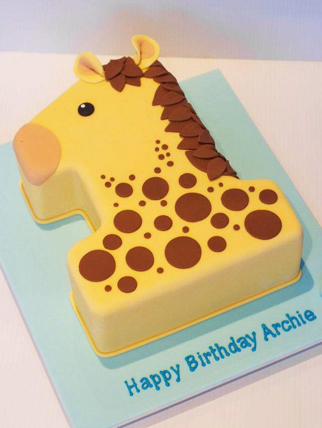 Cakespiration 29 Creative Number Birthday Cakes To Make