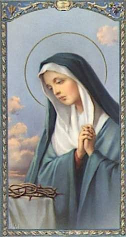 Novena to Our Lady of Sorrows for Peace in the Persian Gulf