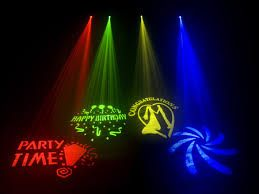 Gobo Projector Hire  www.elite-events.co.za