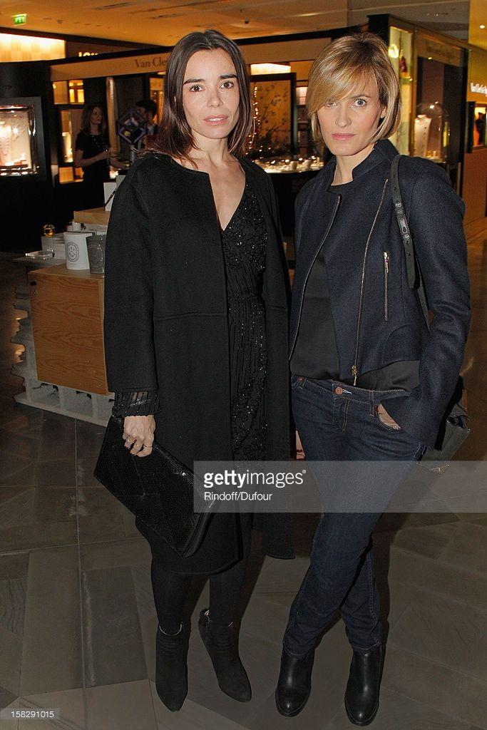 Photo d'actualité : Actresses Elodie Bouchez and Judith Godreche...