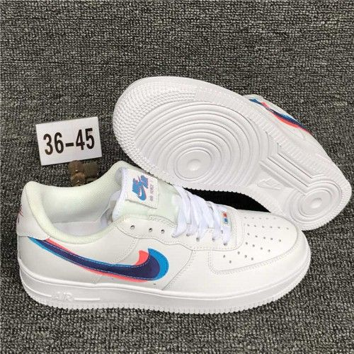 nike air force 1 rosso bianco