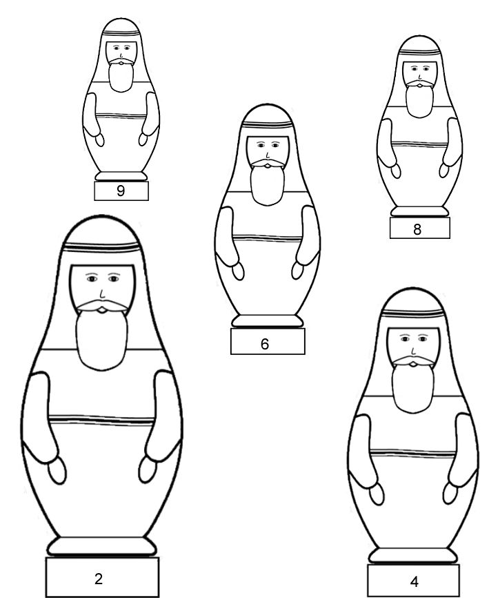 jesus heals a leper coloring page - ten lepers template msss crafts nesting dolls for the