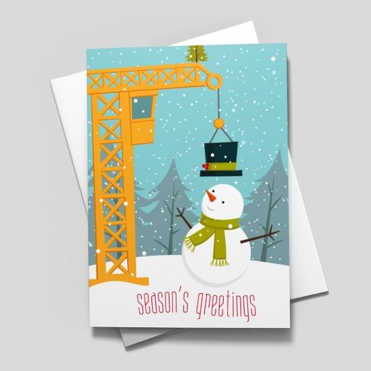 43 best profession specific holiday images on pinterest greeting constructing a snowman construction from brookhollow m4hsunfo