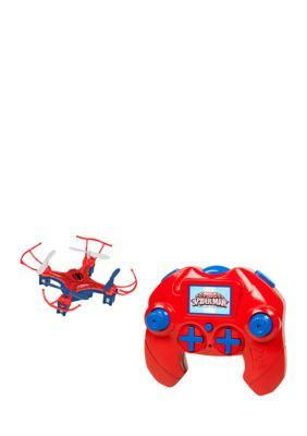 World Tech Toys Marvel Licensed Spider-Man Micro Drone 2.4Ghz 4.5Ch Rc Drone - Red - No Size