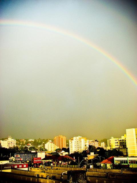 Rainbow at Novo Hamburgo.