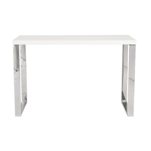 Dillon White Lacquer Desk Writing Desks Home Office Furniture