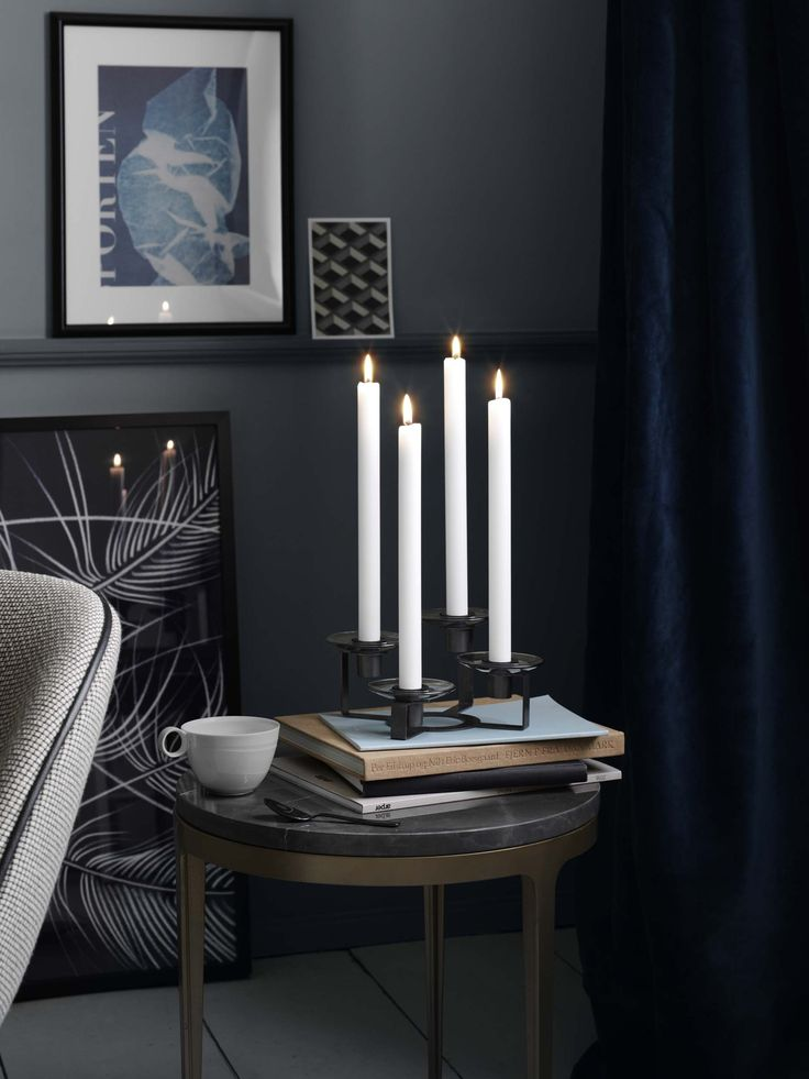 4-armed Holmegaard Lumi Candleholder - perfect for christmas
