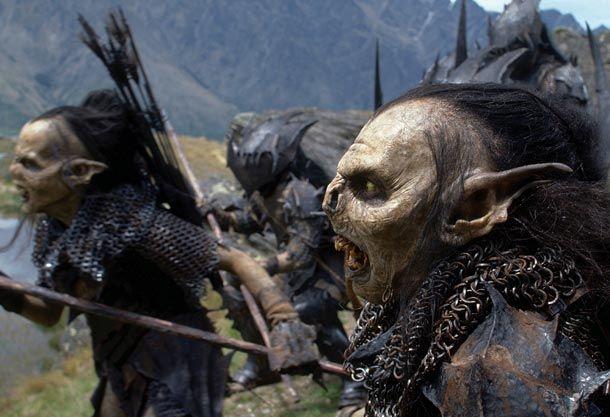 Orks aus dem Film Herr der Ringe. (Quelle: dpa/KPA)