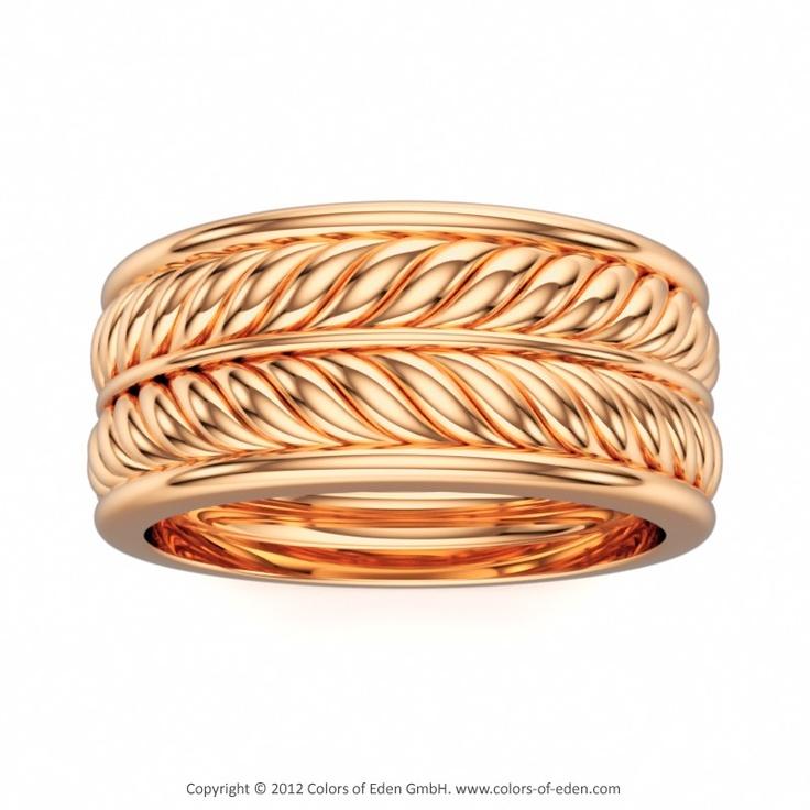 Rose Gold Ring Garland, Colors of Eden