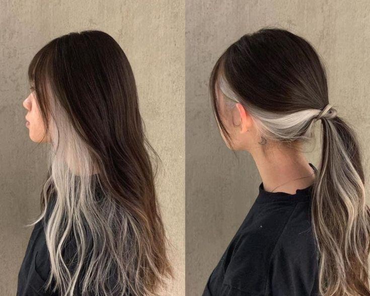 hair dye ideas  brunettes   hair color ideas