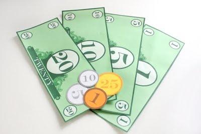 The Everyday Posh: Money Money Money! Free Printable!