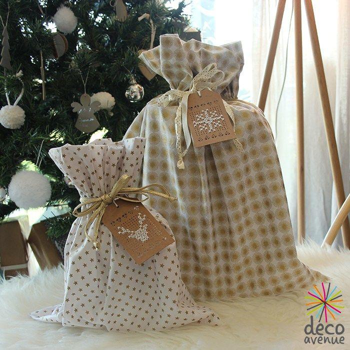 Beaux paquets cadeaux recyclable- Décoavenue - Cabinet de curiosités créatives