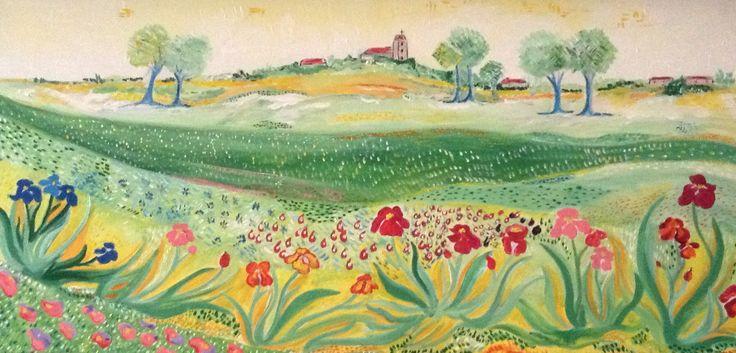 Peinture iris