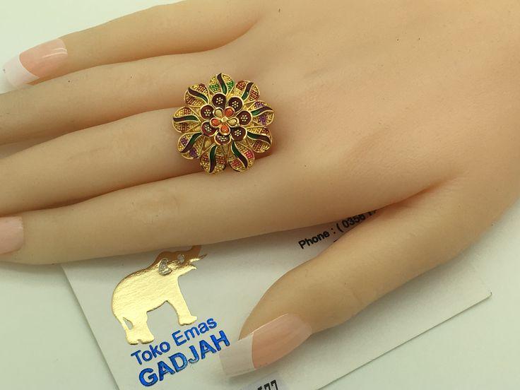 22k/91,6% Gold Import Dubai / India Matahari size ...