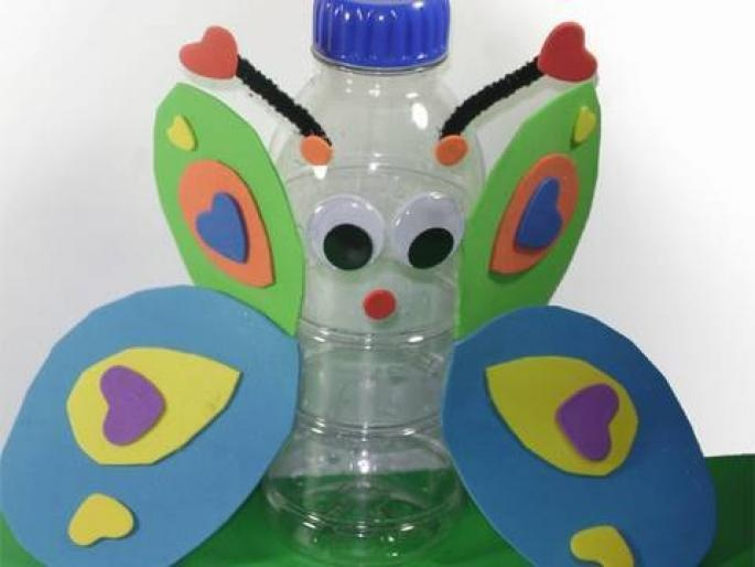 10 best images about water bottle crafts on pinterest for Recycled water bottle crafts for kids