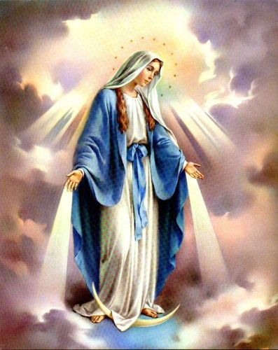 Blessed Virgin Mary-Born:	August 5, -21 in:	Jerusalem (Israel) Sun: 	9°26' Léo	AS: 	10°57' Capricorn Moon:	4°16' Gemini	MC: 	29°29' Libra Dominants: 	Leo, Capricorn, Scorpio Mars, Venus, Uranus Houses 7, 10, 5 / Earth, Water / Fixed Numerology: 	Birthpath 7