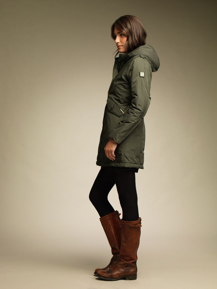 MUNICH 1516 PARKA MUJER IMPERMEABLE