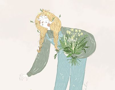 """Check out new work on my @Behance portfolio: """"Hello Spring!"""" http://be.net/gallery/49528487/Hello-Spring"""