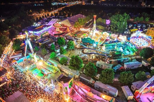 Kiliani-Volksfest in Würzburg   MAIN-POST Nachrichten für Franken, Bayern und die Welt