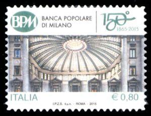 150th Anniversary of the Banca Popolare di Milano