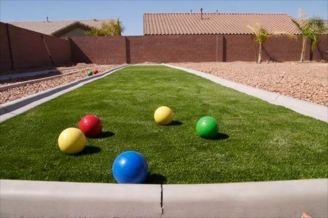 Rumput sintetis untuk resident halaman belakang gazon synthetique