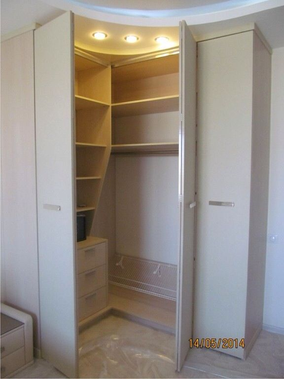 Image Result For Bifold Corner Closet Small Bedroom Wardrobe Corner Closet Closet Designs