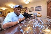 A day in the life of the Puzzle Man at Cancer Treatment Centers of America in Philly. Mr. Brown is an inspiration to many!  #CTCAPA