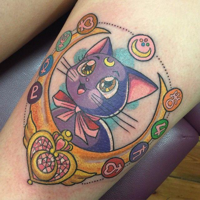 25 best ideas about sailor moon tattoos on pinterest