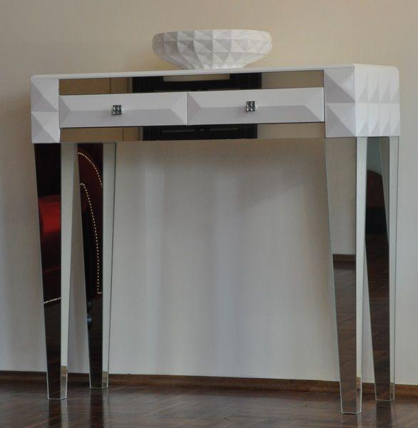 komoda  w stylu ART DECO z lustrzanymi wstawkami  w Acoco na DaWanda.com