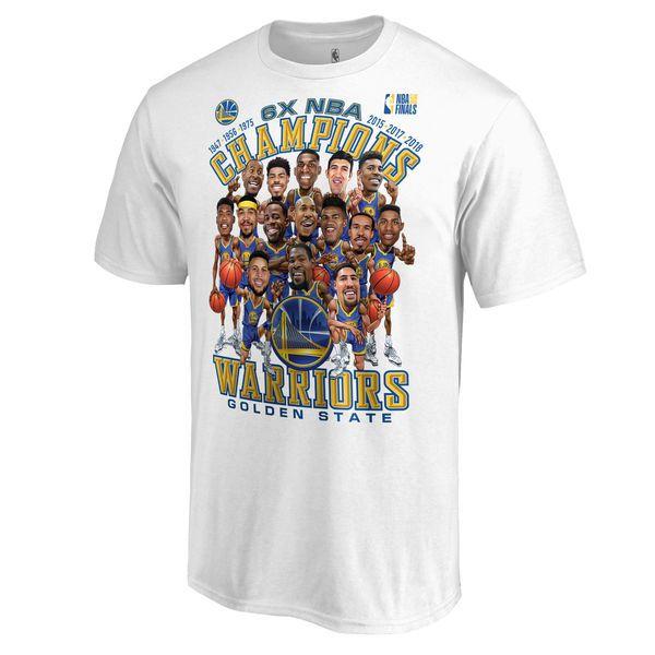 half off 36c05 ee399 Golden State Warriors Fanatics Branded 2018 NBA Finals ...