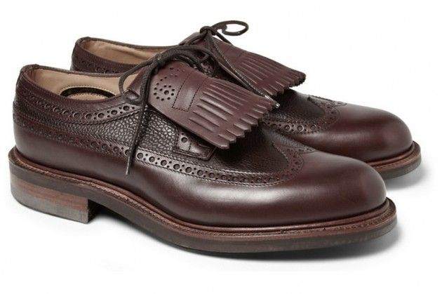 Wooyoungmi x Alfred Sargent – Tasselled Leather Brogues