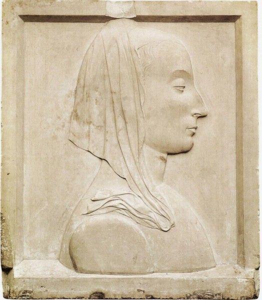 Domenico Rosselli, Portrait of Battista Sforza, 1472-73, Pesaro, Museo Civico.