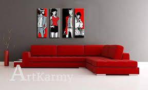 Risultati immagini per misure quadro sopra divano