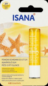 Isana, pomadka ochronna do ust, Sun, 5 g - Internetowa drogeria Rossmann - Zakupy online