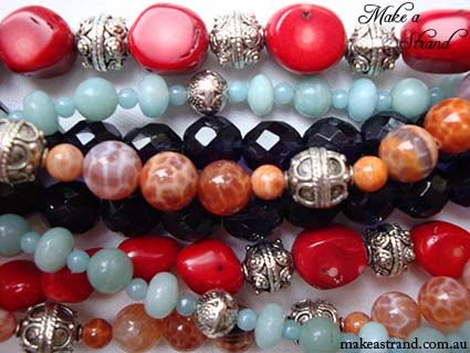 An eclectic mix of colours & styles by Make a Strand