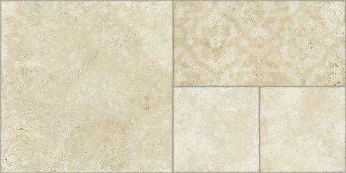 Porcelain tiles | Via Emilia Deco Ivory 45x90 cm. | Arcana Tiles | Coverings