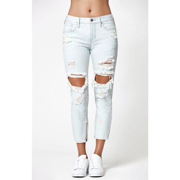 25  best ideas about White Ripped Jeans on Pinterest | White jeans ...