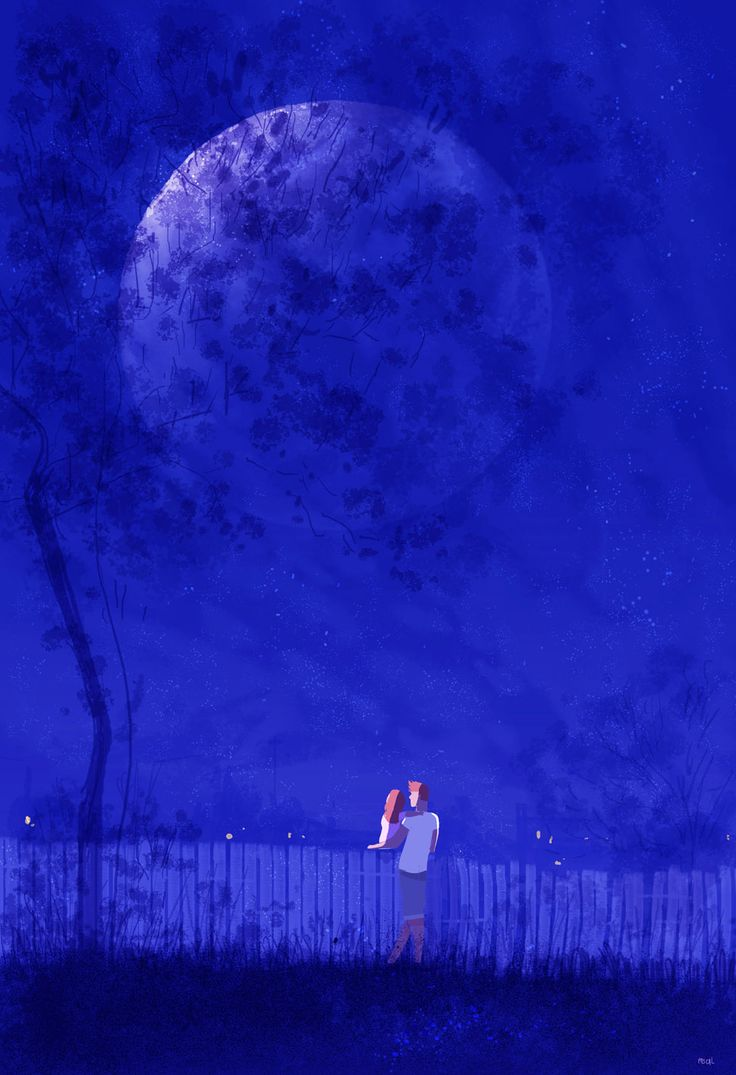 Good night moon! by PascalCampion on DeviantArt