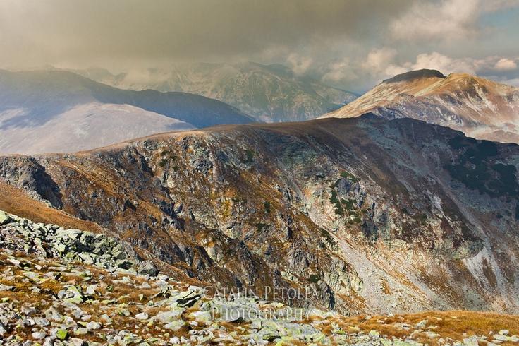 Landscape with Parang mountains - Fagarasi Mountains, Transylvania