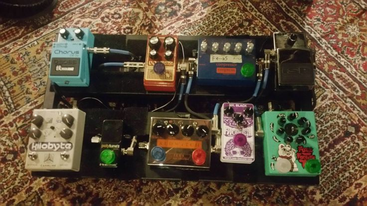 [NPD] Got myself a fuzz factory 7 and a new Cioks Ciokolate PSU. Totally rebuilt and tidied up the board.