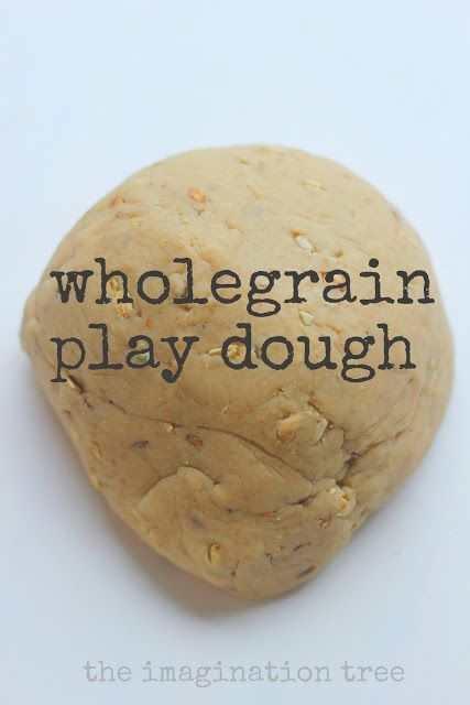 Wholegrain bread play dough and bakery role play ideas!