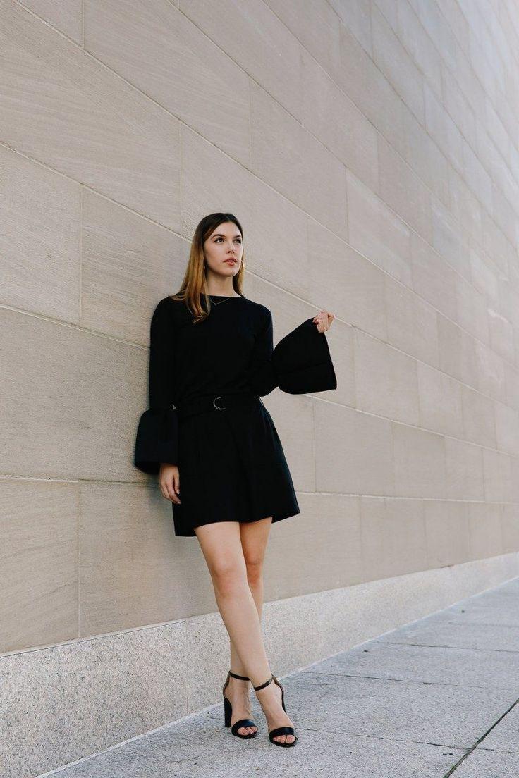 Monochromatic Workwear How To Wear All Black To The Office Work Wear Women Workwear Fashion Workwear Chic [ 1104 x 736 Pixel ]