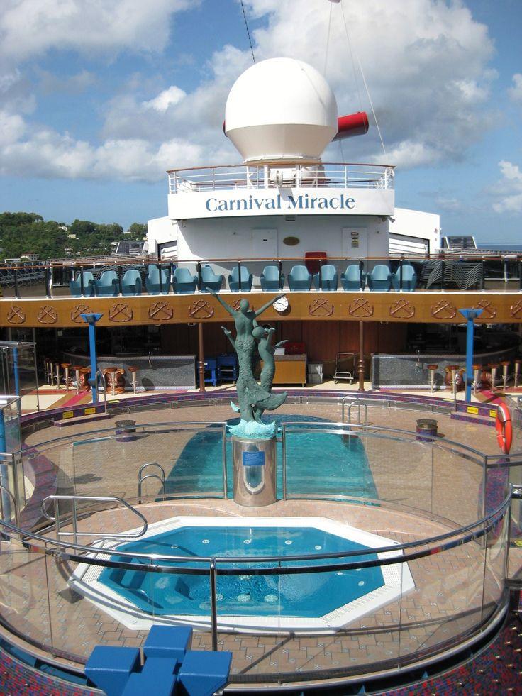 Carnival Miracle Pool Deck