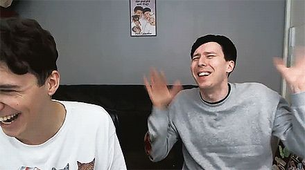 My aesthetic is Dan and Phil knowing all of each other's stories